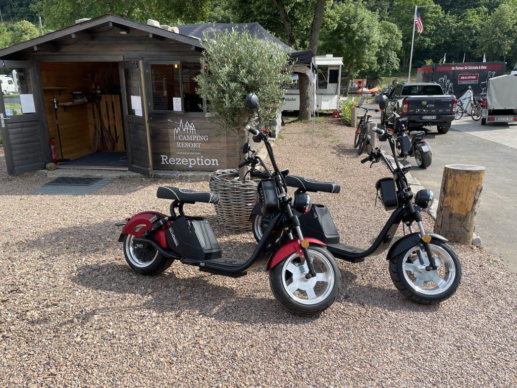 E-Mobilität am Camping Resort Limburg