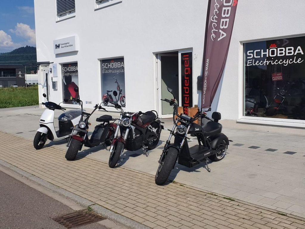 Schobba Zentrale für E-Mobilität