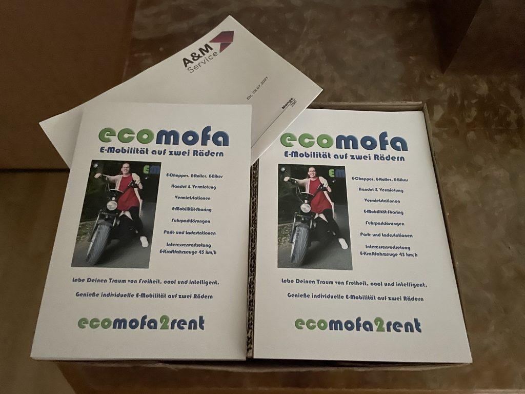 E-Mobilität mieten - ecomofa2rent